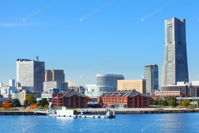 Yokohama Stadtbild