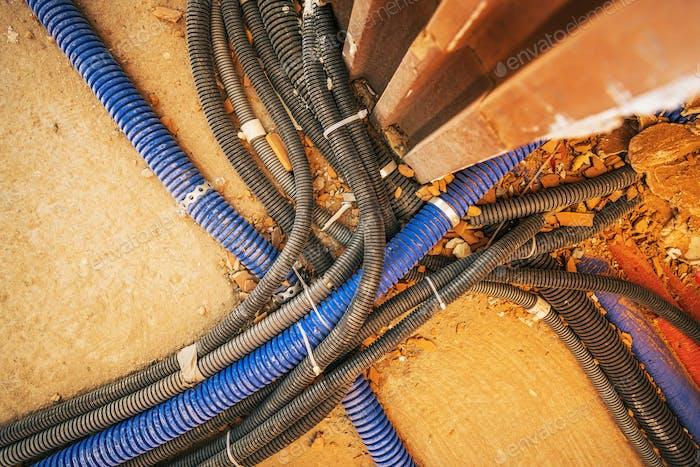 Komplizierte elektrische Haussysteme