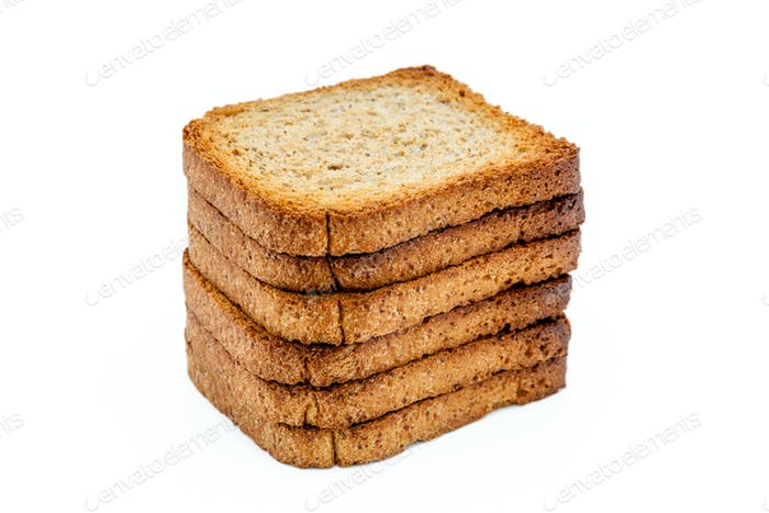 Slices of toast