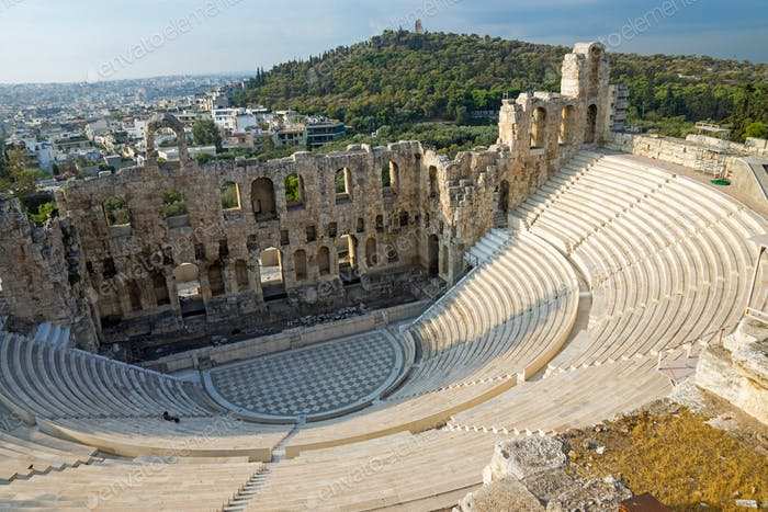 Ancient theatre in Athens