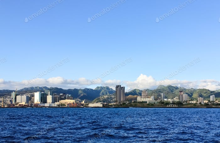 honolulu coastal scenery