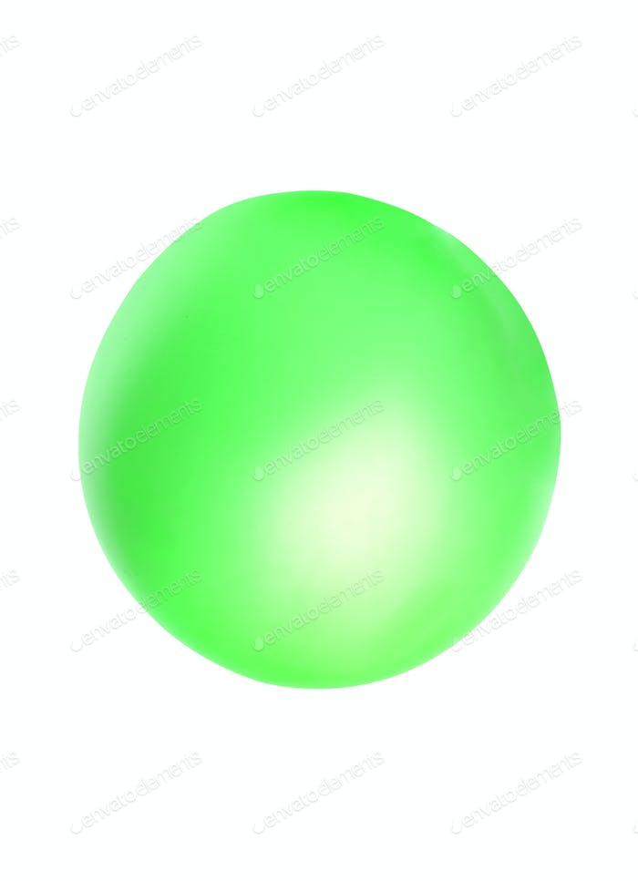 große grüne Kugel