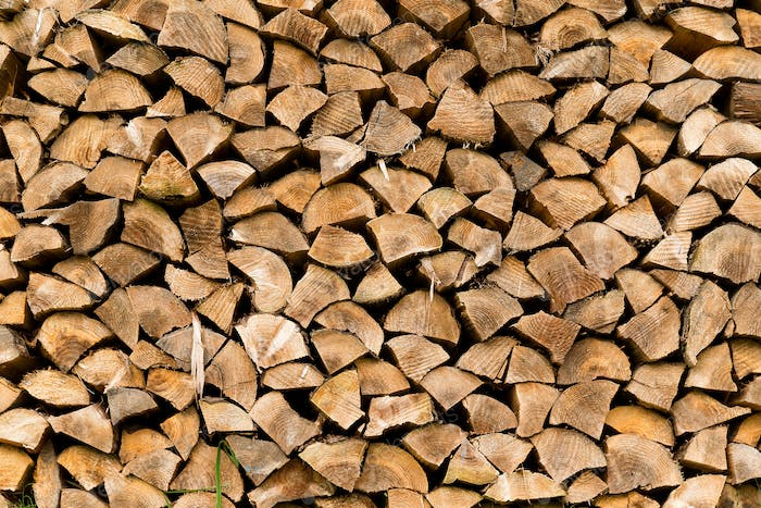 Wooden timber at outdoor