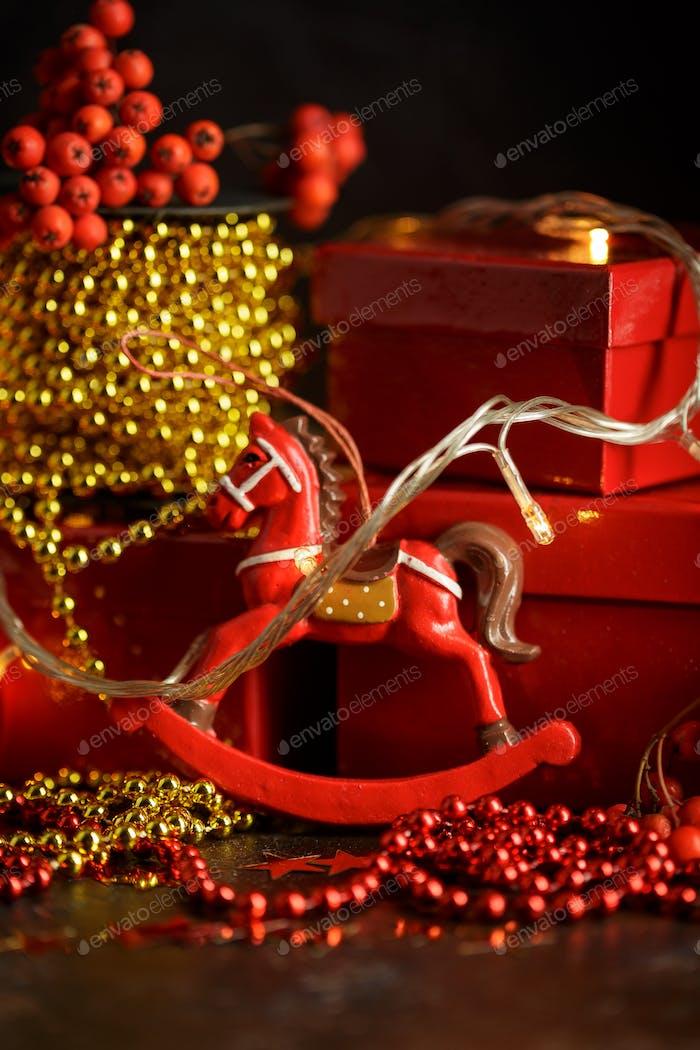 Weihnachten Urlaub Hintergrund.
