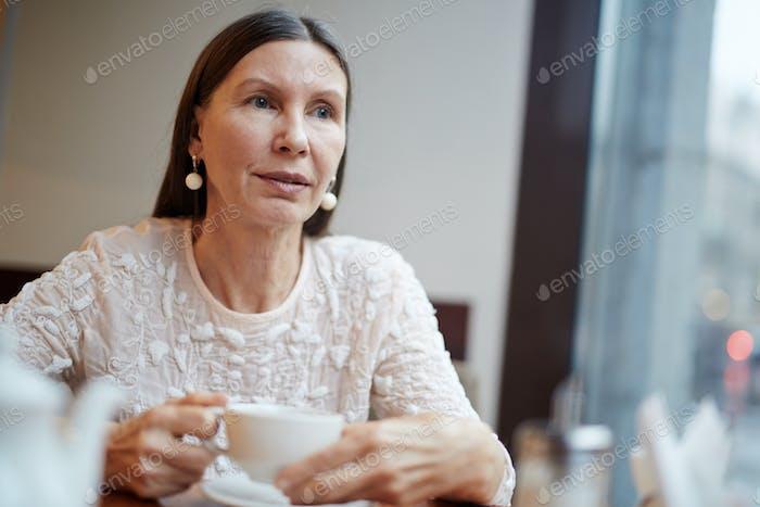 Pensive pensioner