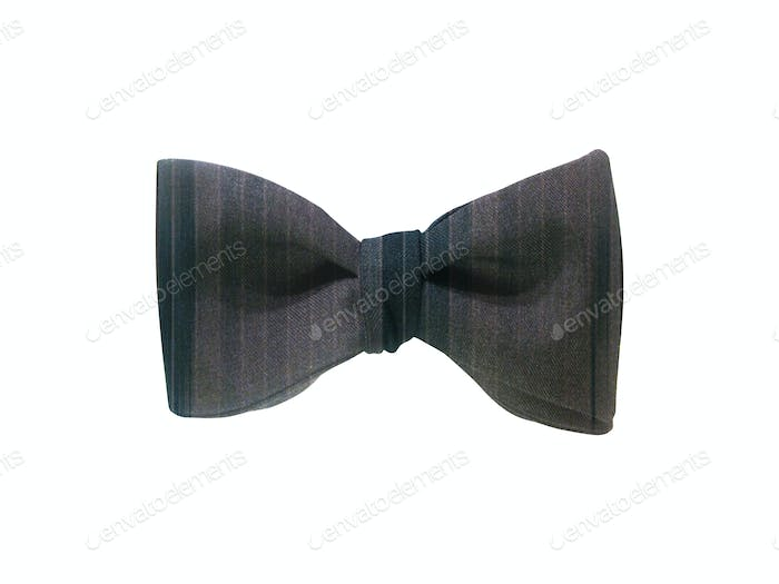 bow tie isolated on white
