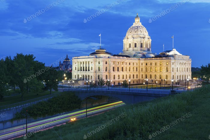 Minnesota State Capitol in St. Paul