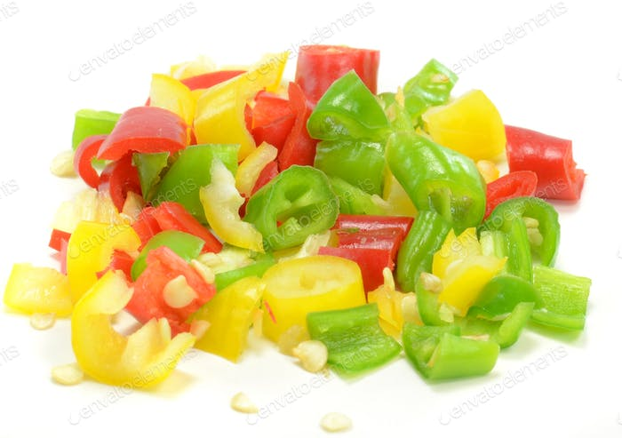 Fine Diced Chilli Peppers