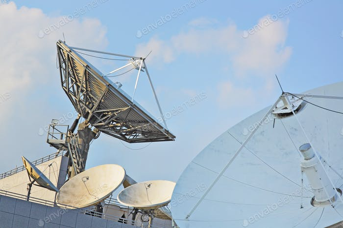 Satelliten-Geschirr