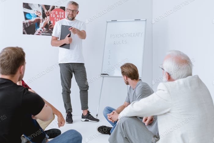 Men Supporting Men, Introduction to a Men's Therapy Group