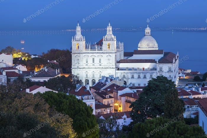 Sao Vicente de Fora Monastery in Lisbon