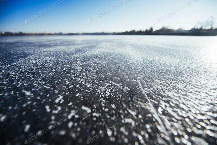close up ice