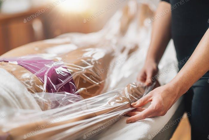 Anti-Cellulite-Bagging-Vakuumtherapie für Arme und Beine