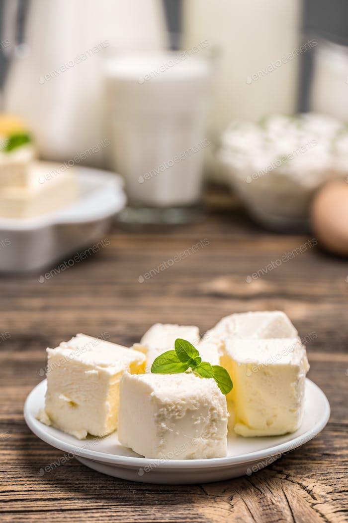 Butter cubes