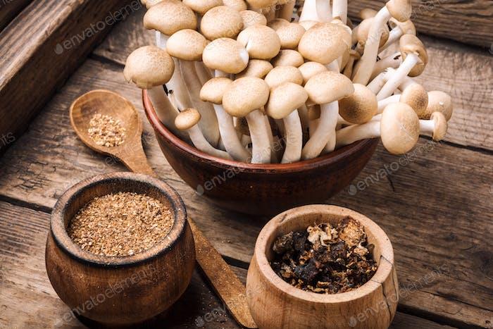 Fragrant mushroom seasoning
