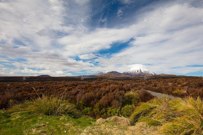 Horizontal del monte Ngauruhoe