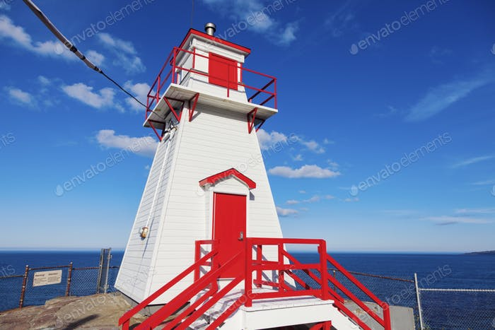 Fort Amherst Lighthouse in St. John's