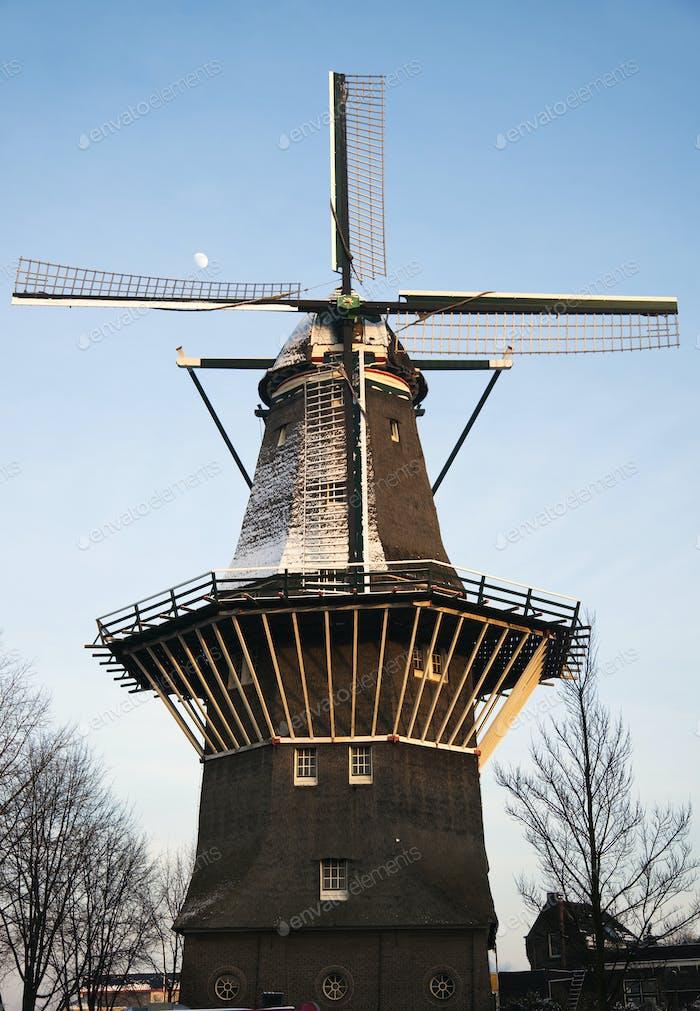 Windmill inv Amsterdam