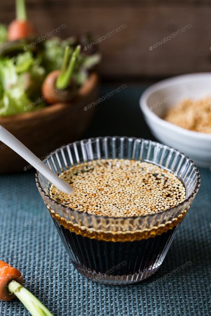 Soysauce dressing