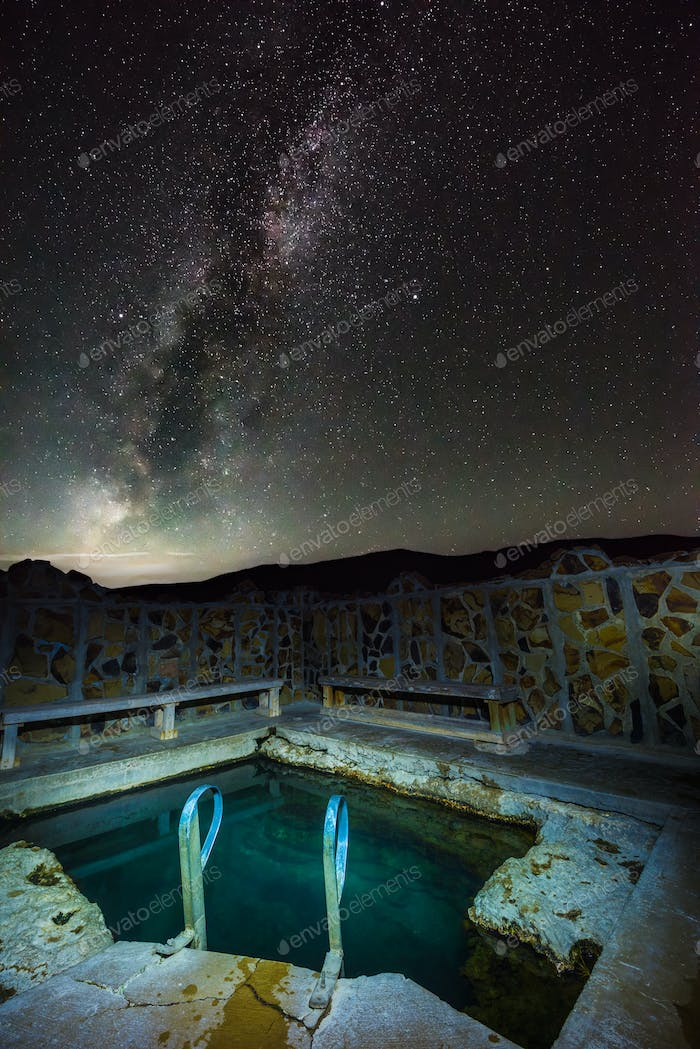 Milky Way over Antelope Hot Springs Oregon