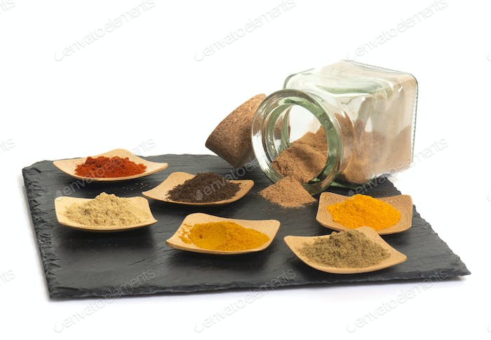 spices in studio