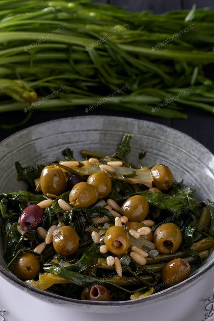 Chicory Hearts Salad