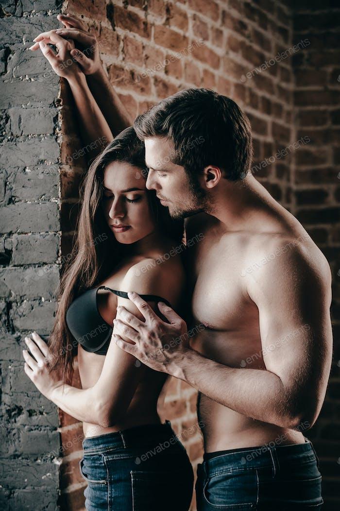 Tender and sensual.