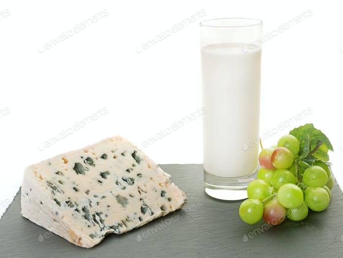roquefort cheese in studio