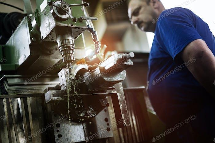Computerized metal milling