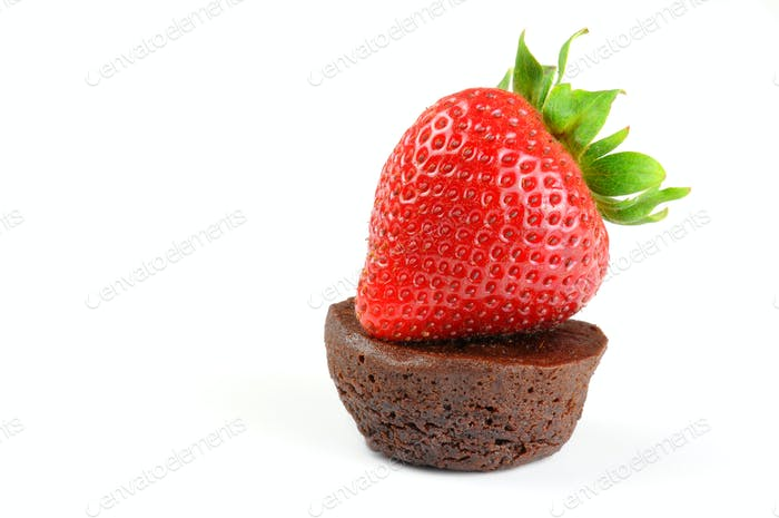 Strawberry and Brownie