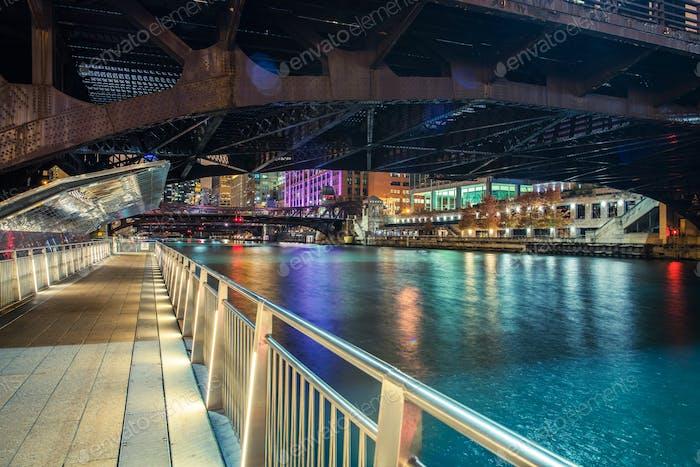 Downtown Chicago Riverwalk