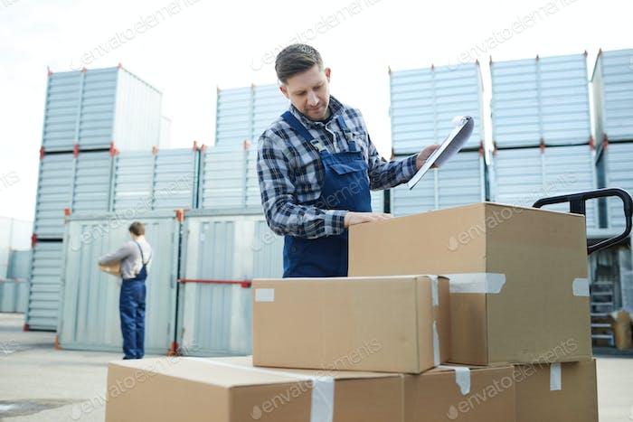Checking boxes