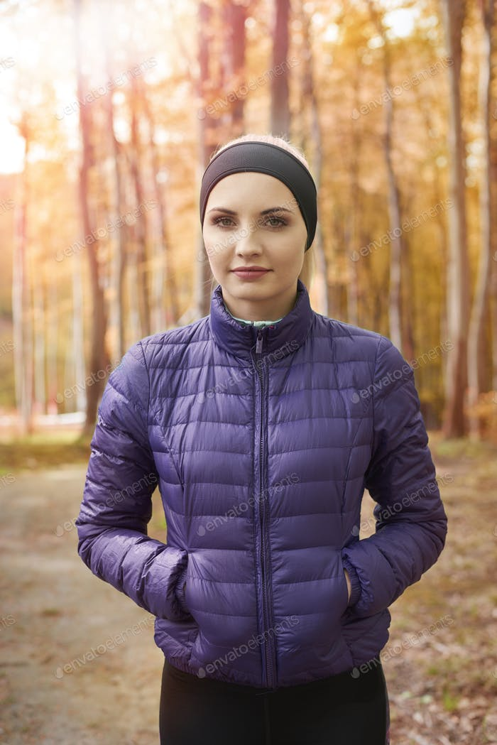 Warm clothing to do jogging