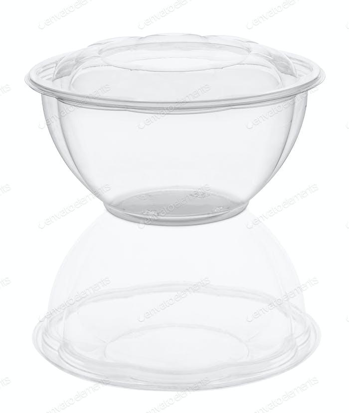 plastic disposable food bowl