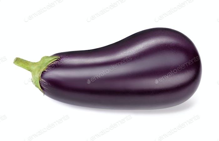 fresh raw eggplant