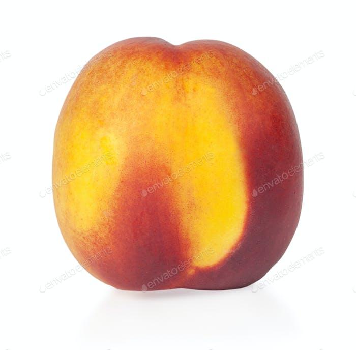 Juicy ripe peach