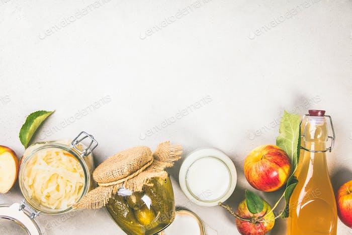 fermentierte Lebensmittel