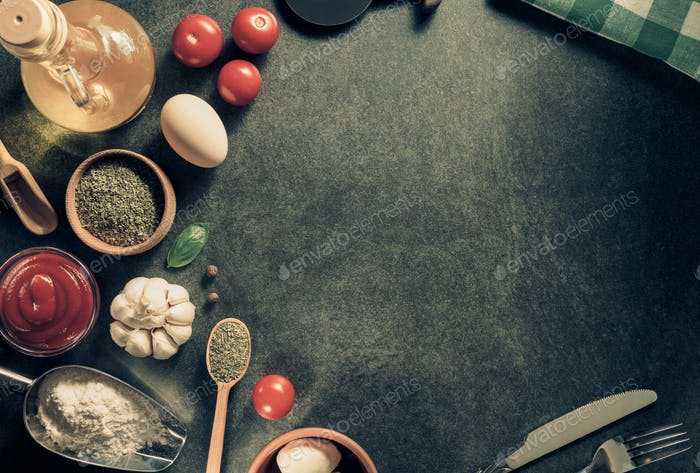 spice and herbs ingredients