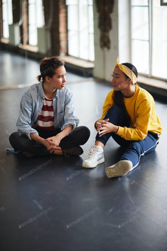 Conversation at break