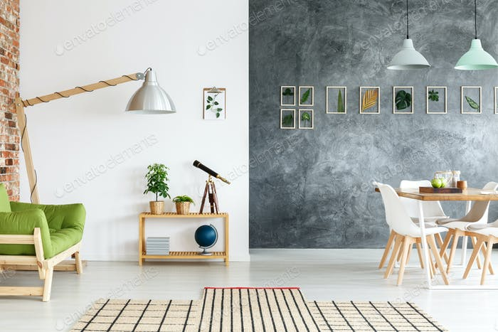 Creative Decorations In Living Room Foto Von Bialasiewicz Auf Envato Mesmerizing Flooring For Dining Room Creative