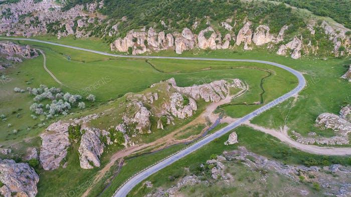 Dobrogea Gorges (Cheile Dobrogei) Romania