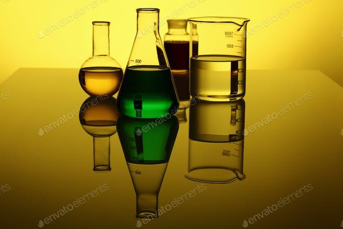 Glass chemistry tubes