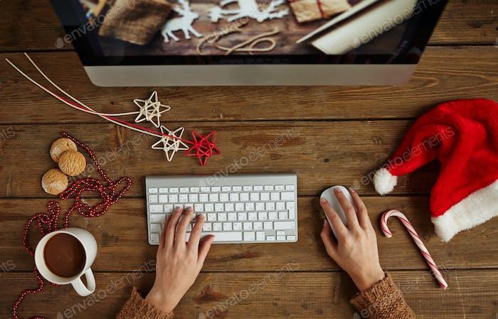 Рождественская работа