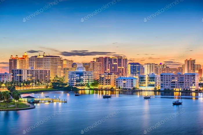 Sarasota, Florida, USA Skyline