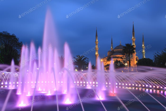 Blue mosque - Istanbul , Turkey