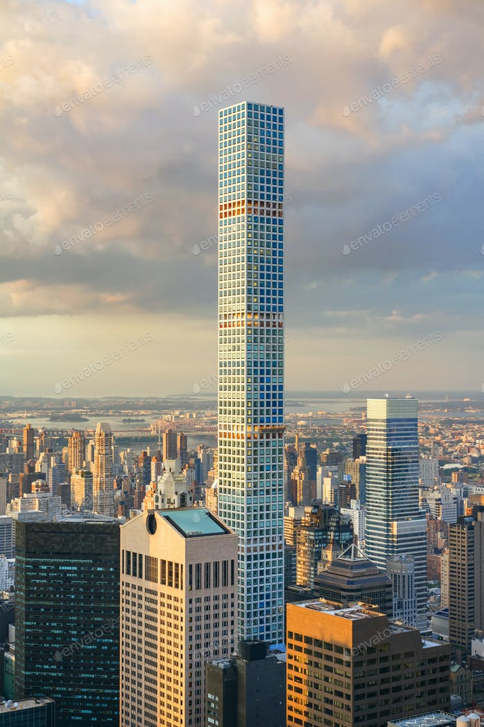 432 Park Avenue on New York City, the tallest residential building in the world