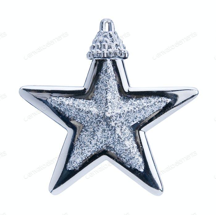 weihnachtsblauer stern