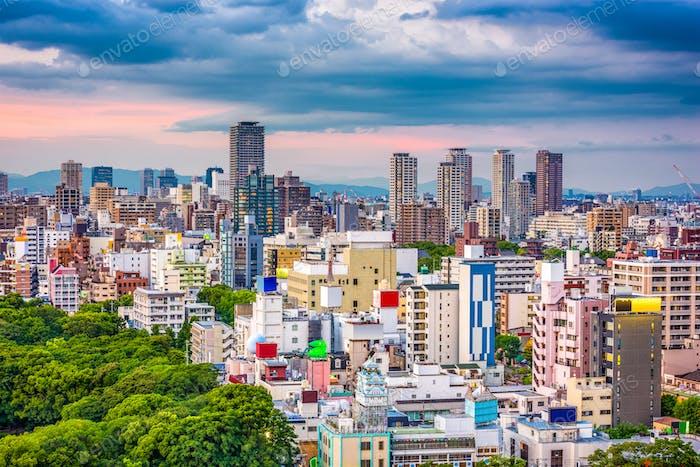 Osaka, Japan Stadtbild