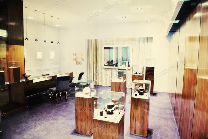 jewelry store indoors