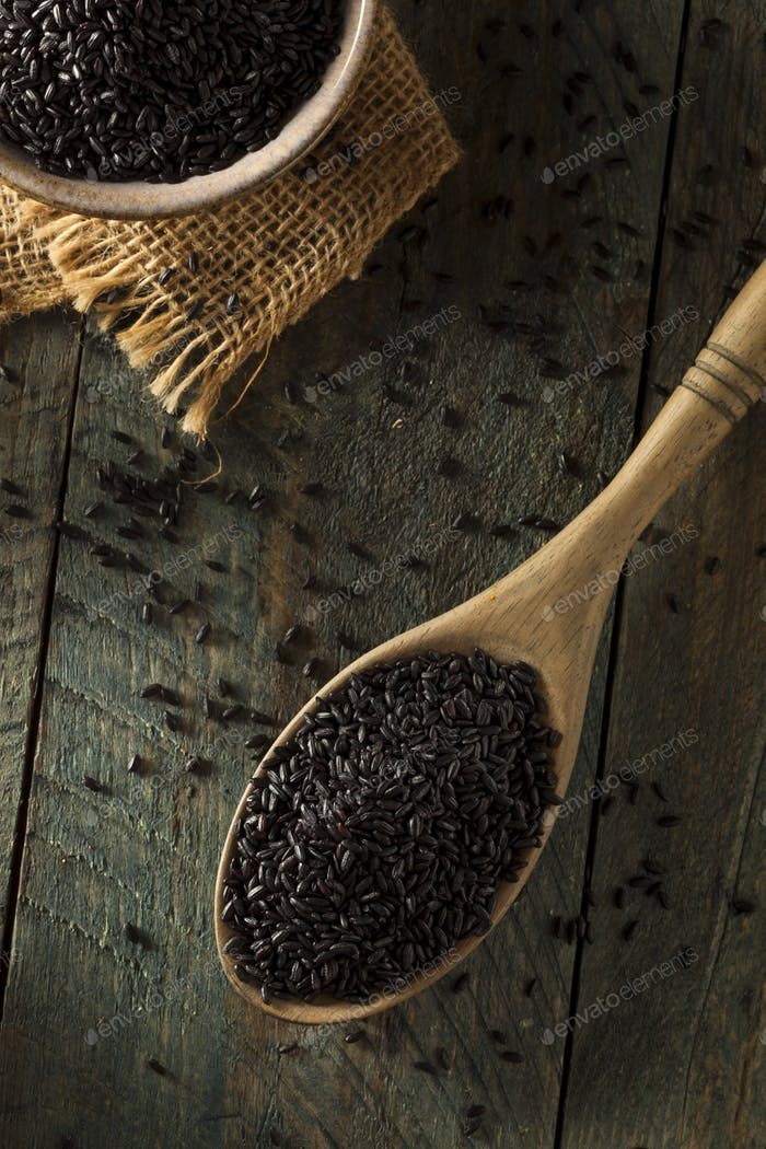 Raw Dry Organic Black Rice